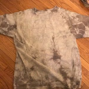 URBAN OUTFITTERS brand new tie die grey shirt